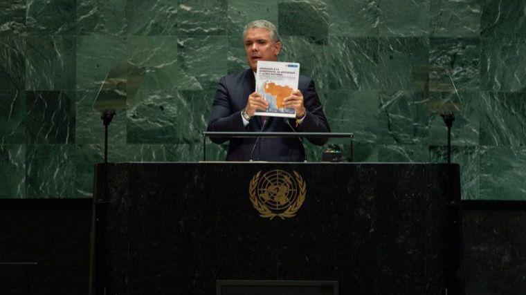 Iván Duque o cómo un presidente puede mentir en las Naciones Unidas