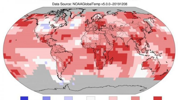 Crisis climática mundial: segundo año más caluroso jamás registrado