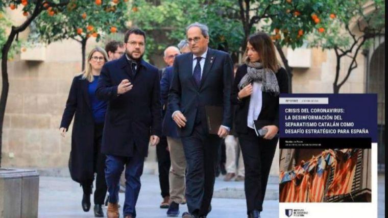 ¿Está utilizando el separatismo catalán el Covid-19 para 'deslegitimar' a España?