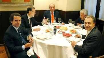 La cena del Rey Juan Carlos dispara los rumores
