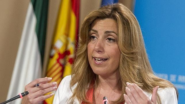 El Tribunal Supremo salva a Susana Díaz