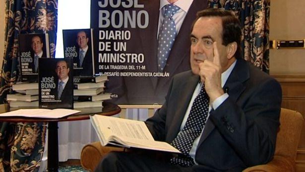 Las revelaciones del libro del ex ministro Bono
