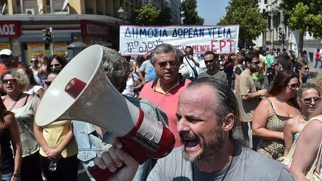 El corralito de Grecia