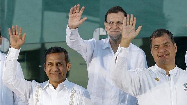 Rajoy deserta de Iberoamérica