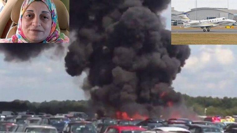 Sospechoso y oportuno accidente aéreo donde murió la hermanastra de bin Laden que iba a declarar sobre el 11-S