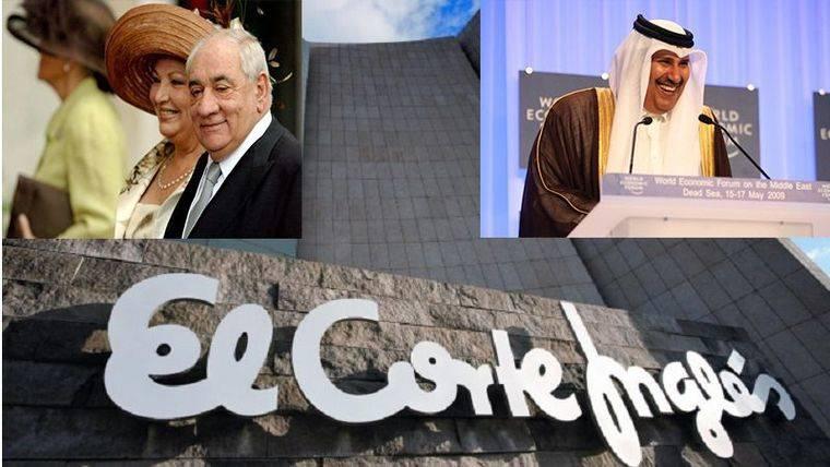 Los accionistas de El Corte Inglés enfrentados por la entrada del capital de Qatar