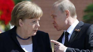 Putin propone a Merkel frenar la llegada de refugiados sirios con campamentos junto a las ciudades liberadas por los rusos