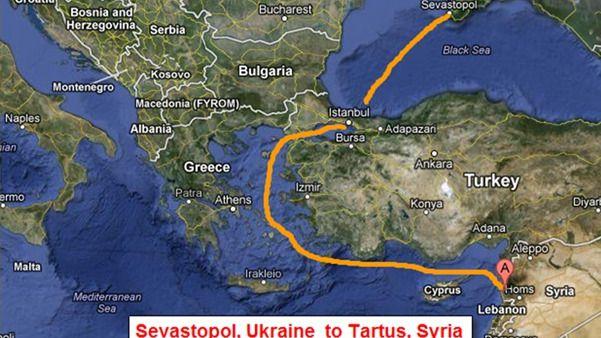 Resultado de imagen para Latakia, la única base rusa en el Mediterráneo