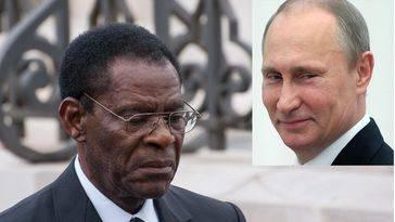 Obiang pacta con Putin que la Armada rusa utilice los puertos de Guinea Ecuatorial