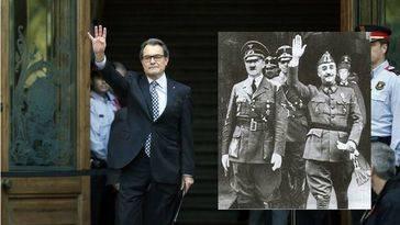 Aires de fascismo en los dirigentes catalanes