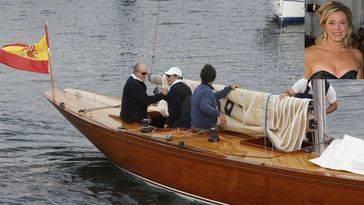 El rey emérito Juan Carlos rejuvenece con su nueva amiga Deborah Norville, popular presentadora de TV en Estados Unidos, y un nuevo velero
