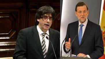 El independentismo de Puigdemont beneficia a Rajoy para formar una gran coalición con PSOE y Ciudadanos