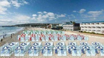 Así podría ser nuestro verano: con mamparas de separación en playas y restaurantes