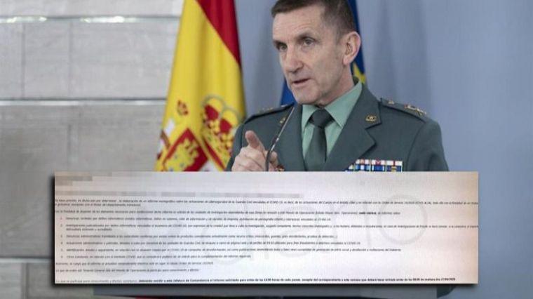 El Gobierno sí pidió a la Guardia Civil minimizar