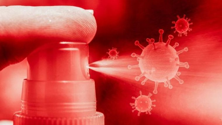 Un componente de la lejía actúa de barrera frente al coronavirus