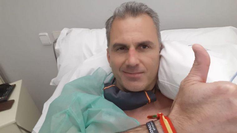 Covid-19: Ortega Smith (Vox) ingresado de urgencia con trombos en una pierna y los pulmones
