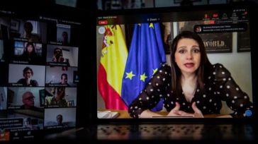 Inés Arrimadas ratifica el acuerdo con Pablo Casado de ir juntos a las elecciones vascas y carga contra la prórroga de Pedro Sánchez