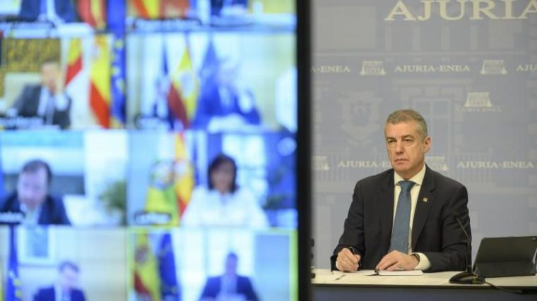 Urkullu carga contra Sánchez y tacha de 'desconcertante' el acuerdo con Bildu