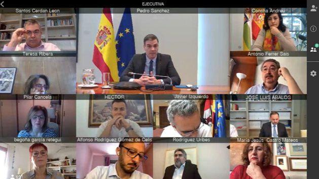Sánchez y la Ejecutiva de la concordia: Pide al PSOE no caer en las provocaciones de la derecha... algo que no se aplica