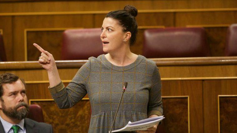 Macarena Olona (Vox) desvela que el 'número dos' de Dolores Delgado maniobra para lograr el archivo de la causa del 8-M