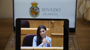 'Con lo que usted ha sido, vergüenza le debería de dar': Una casi desconocida Lorena Roldán (Cs) carga en su discurso más duro contra Marlaska
