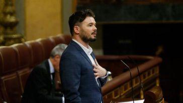 Rufián fija su objetivo en Ciudadanos: Considera que es