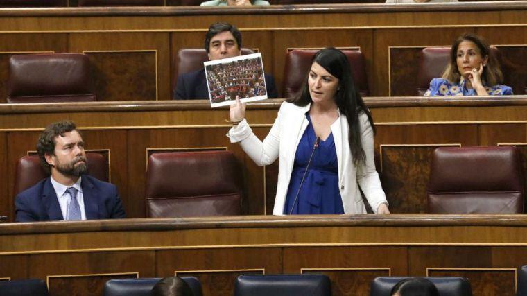La Macarena Olona más cruda se encara contra Fernando Grande-Marlaska: