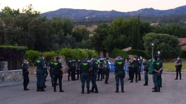 El enorme despliegue de la Guardia Civil con Iglesias pese al lamentable comportamiento del Gobierno con el cuerpo
