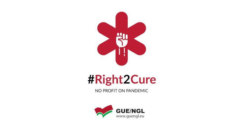 Unidas Podemos pisa al Gobierno y se une al #Right2Cure para que la vacuna contra el Covid-19 sea universal y gratuita