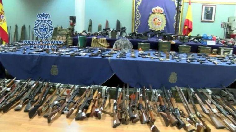[VÍDEO] Así desarticulan la mayor red de tráfico de armas en España