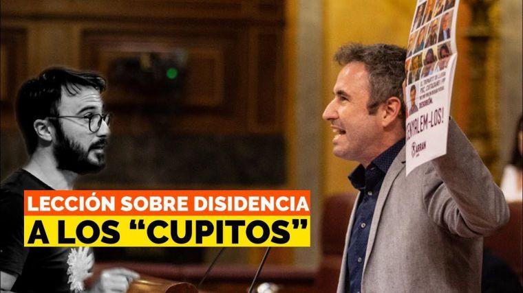 Guillermo Díaz (Cs) se erige como azote del separatismo y destroza a los 'cupitos' en el Congreso