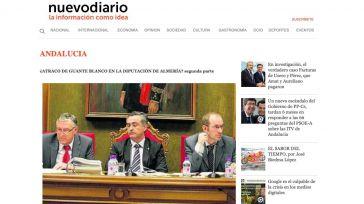 Nuevodiario desvela el 'atraco de guante blanco' de la Diputación de Almería