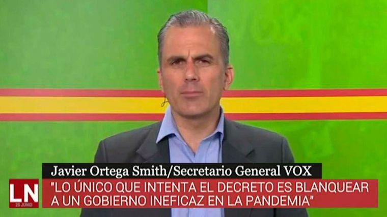 Ortega Smith: 'Las medidas de control a los turistas son totalmente insuficientes