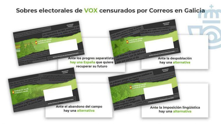 ¿Por qué se empeñó Correos en 'secuestrar' los sobres electorales de Vox en Galicia y País Vasco?