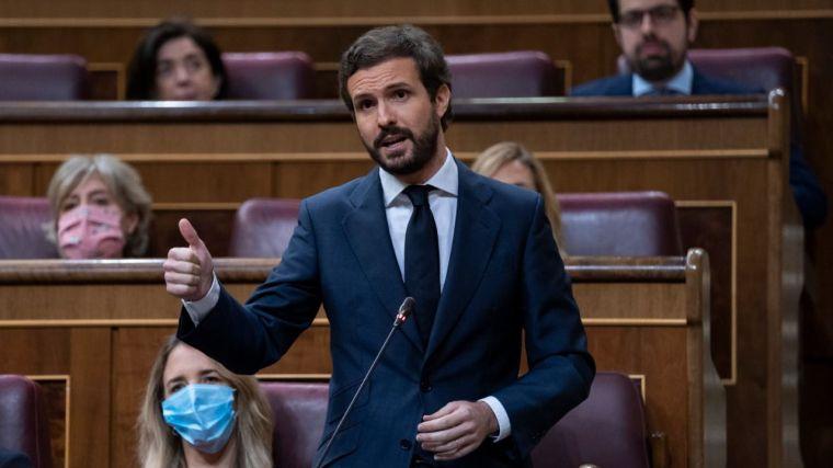 Casado clama contra 'el triunfalismo del Gobierno' tras subir el paro en junio 'por primera vez desde 2008'
