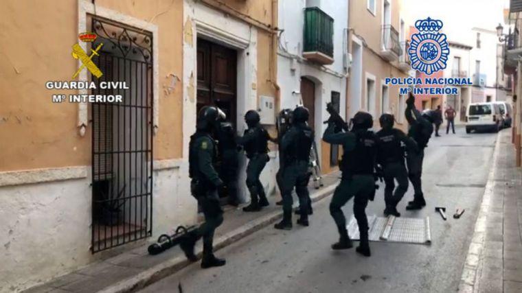 Macrooperación antidroga: Cae una peligrosa organización criminal dedicada al tráfico de hachís a nivel internacional