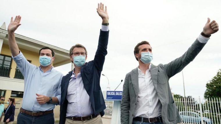 Feijóo mira hacia otro lado ante los rebrotes: 'Ir a un colegio electoral en Galicia será lo mismo que ir a una farmacia'