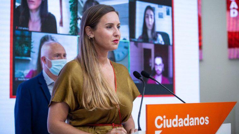 Melisa Rodríguez (Cs): 'Pactar con los que no creen en nuestro país lo único que hace es darles alas'