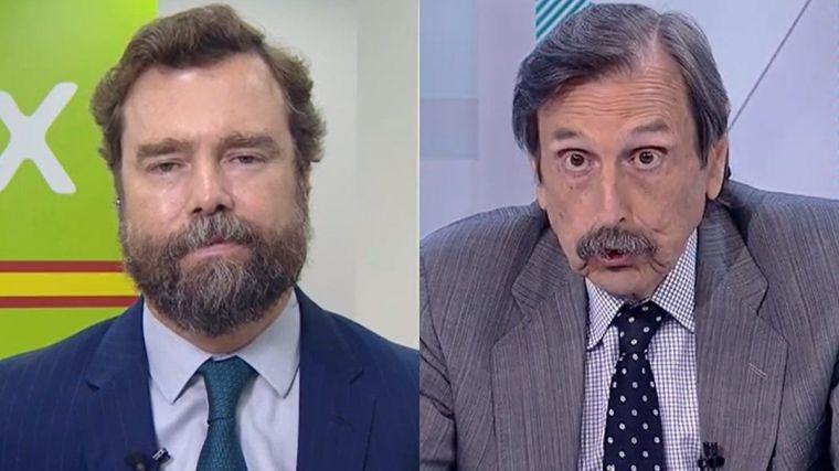 Rifirrafe en directo: Papell y Espinosa se retan en TVE a verse en los tribunales