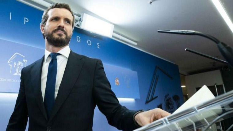 Casado intenta apuntalar a Sánchez asegurando que Europa ha corroborado el modelo del PPE