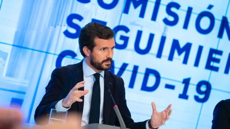 Casado estalla: Irrisorio acuerdo de la FEMP que sale adelante sólo con los votos del PSOE