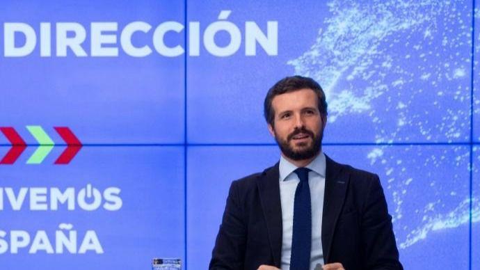 Casado desmonta a Sánchez: Pide su apoyo a unos PGE 'moderados' para 'neutralizarle'