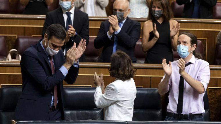 Iglesias arremete contra Sánchez por haberle ocultado la salida del Rey emérito y la operación de Caixabank y Bankia