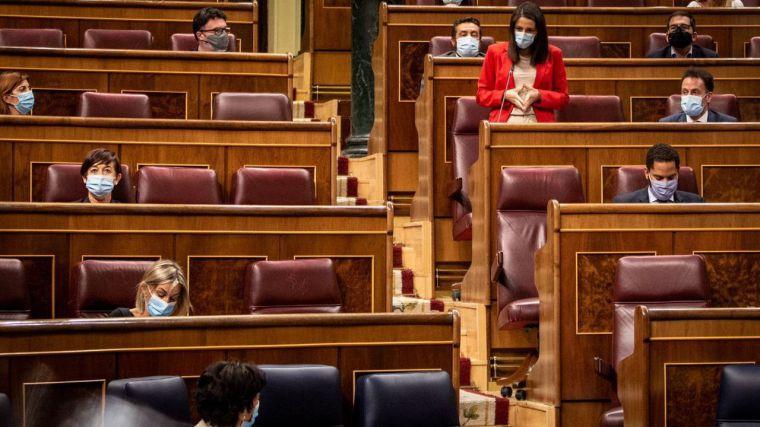 Arrimadas lapidaria: 'El Gobierno llegó tarde a la pandemia y todavía no ha llegado a la vuelta al cole'