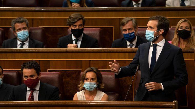 Casado cara a cara con Sánchez: 'No nos pida arrimar el hombro al precipicio para salvarse'