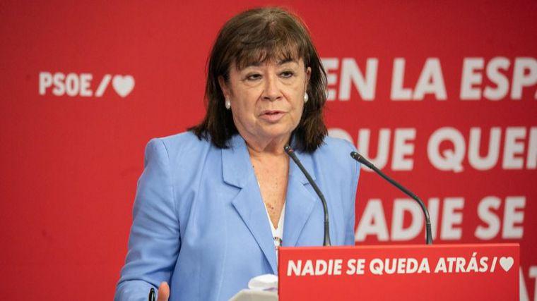 Pide lo que el Gobierno no ha hecho: Narbona exige a Casado y a Ayuso que