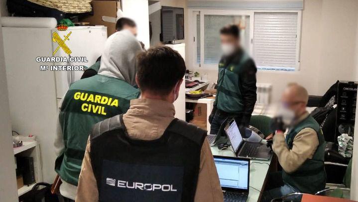 Operación conjunta de Guardia Civil y EUROPOL para prevenir un posible ataque en Madrid al detener a un miembro de Daesh