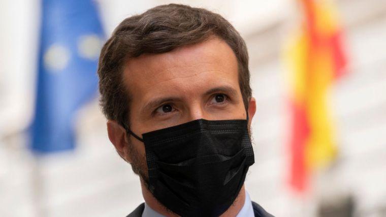 Casado clama contra el 'bochorno' de Sánchez: