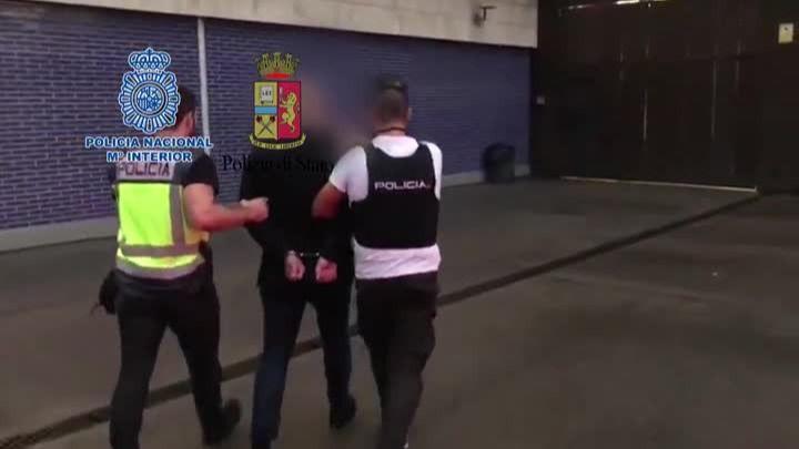 [Vídeo] Así ha detenido la Policía Nacional a un destacado miembro de la Ndrangheta en Barcelona