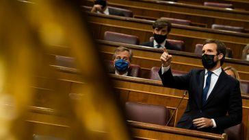 Casado eleva el tono contra Sánchez: 'Su soberbia es la expresión de lo que le falta'